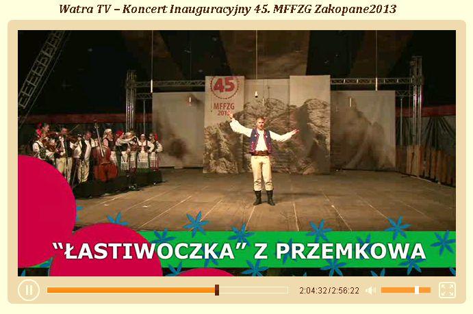 45_MFFZG_Zakopane_Inauguracja_2013r