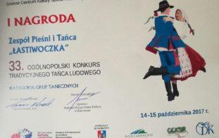 33 Ogólnopolski Konkurs Tradycyjnego Tańca Ludowego