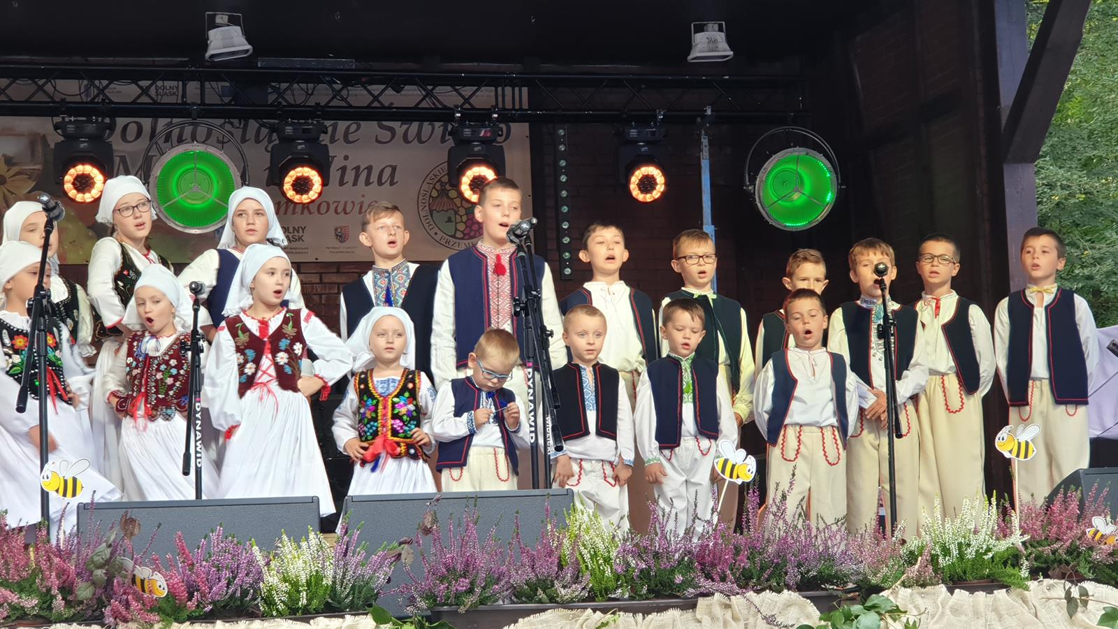 Łastiwoczka i Łastiwczata na XX Dolnośląskim Święcie Miodu i Wina