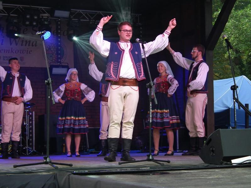 Na Łemkowską Nutę podczas Święta Miodu i Wina w Przemkowie